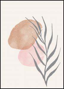 Bildverkstad Painted Leaf II Poster