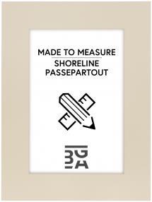 Egen tillverkning - Passepartouter Passe-partout Shoreline - Op maat gemaakt