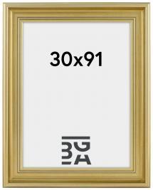 Ramverkstad Fotolijst Mora Premium Zilver 30x91 cm
