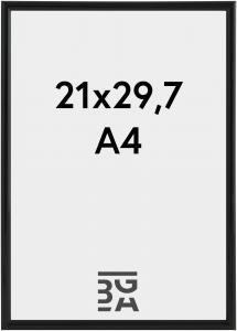Walther Galeria Zwart 21x29,7 cm (A4)