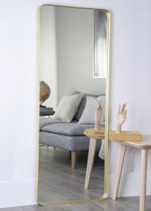 Hübsch Spiegel Messing 60x152 cm
