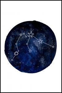 Bildverkstad Aquarius Poster