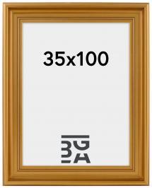 Ramverkstad Fotolijst Mora Premium Goud 35x100 cm