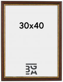 Galleri 1 Fotolijst Siljan Bruin 30x40 cm