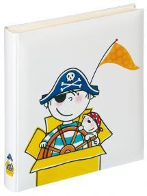 Walther Kinderalbum Piraat Kinderdagverblijf - 28x30,5 cm (50 Witte pagina's)