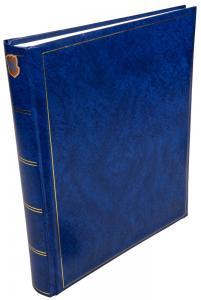 Henzo Henzo Basic Line Fotoalbum Blauw - 30x36 cm (80 Witte pagina's / 40 bladen)