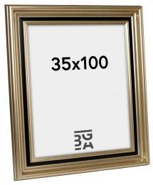 Ramverkstad Fotolijst Gysinge Premium Zilver 35x100 cm