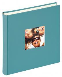 Walther Fun Album Turquoise - 30x30 cm (100 Witte pagina's / 50 bladen)