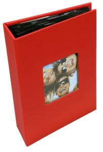 Walther Fun Album Rood - 100 Foto's van 10x15 cm