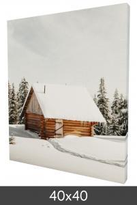 Egen tillverkning - Kundbild Canvas posters 40×40 cm - 18 mm