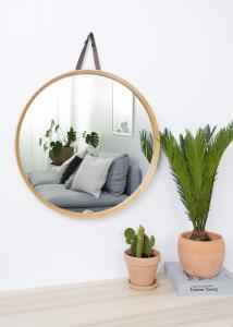 Hübsch Spiegel Bamboe 60 cm Ø