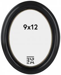 Estancia Eiri Mozart Ovaal Zwart 9x12 cm