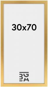 Galleri 1 Fotolijst Gold Wood 30x70 cm