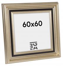 Ramverkstad Fotolijst Gysinge Premium Zilver 60x60 cm