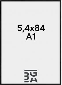 Nielsen Fotolijst Nielsen Premium Alpha Blank Zwart 59,4x84 cm (A1)