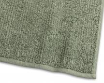 Borganäs of Sweden Gastendoek Stripe Badstof - Groen 30x50 cm