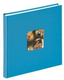 Walther Fun Album Zeeblauw - 26x25 cm (40 Witte pagina's / 20 bladen)