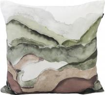 Redlunds Skymning Kussenhoes Groen 45x45 cm