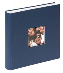Walther Fun Album Blauw - 30x30 cm (100 Witte pagina's / 50 bladen)