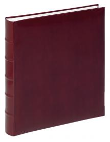 Walther Walther Fotoalbum Classic Rood - 29x32 cm (60 Witte pagina's / 30 bladen)