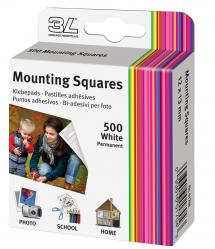 3L Mounting Squares 500 st