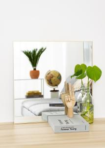 KAILA KAILA Square Mirror - Thin Brass 60x60 cm