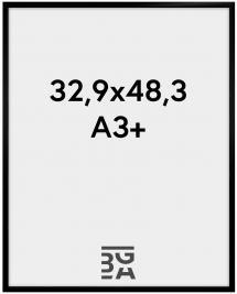 Walther Fotolijst New Lifestyle Acrylglas Zwart 32,9x48,3 cm (A3+)