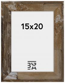 Estancia Superb Hout bruin 15x20 cm