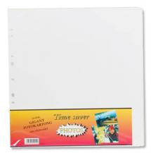 Albumbladen Timesaver Gigant - 10 Witte vellen